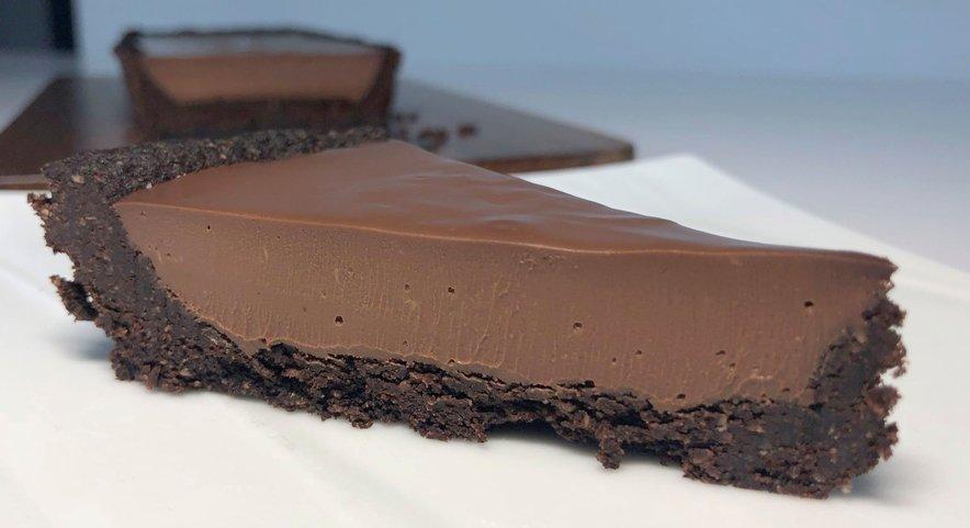 LCHF čokoladna pita