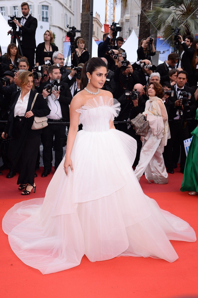 Priyanka Chopra v Cannesu