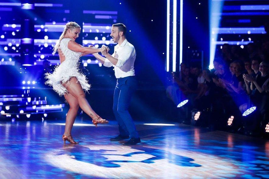 Špela in Miha sta si po treh plesnih dvobojih zagotovila finale.