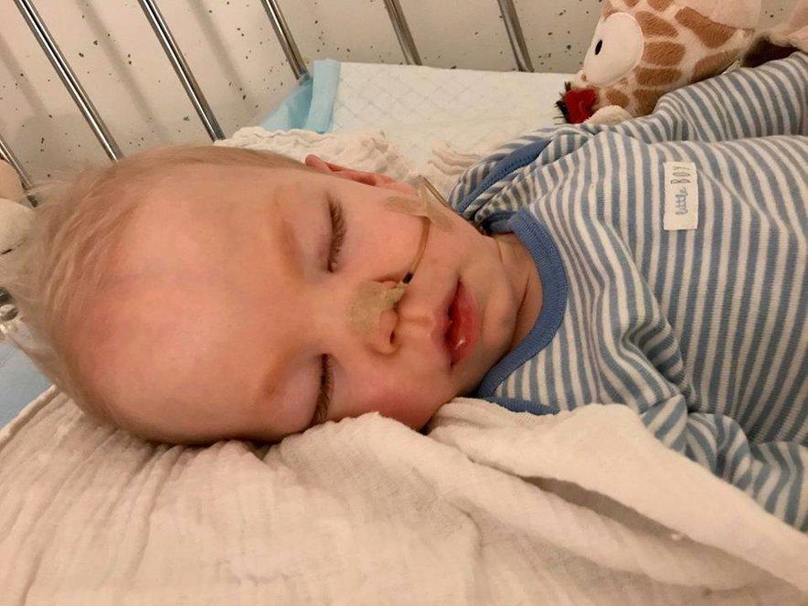Viljem Julijan ima ekstremno redko neozdravljivo smrtonosno bolezen gangliozidozo GM-1.