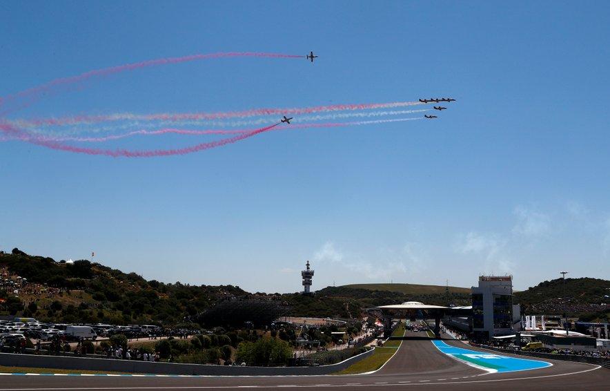 Dirkališče v Jerezu bo maja samevalo.