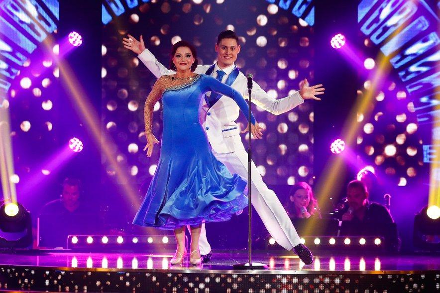 Tanja Žagar in Arnej Ivkovič sta brez težav prišla vse do finala.