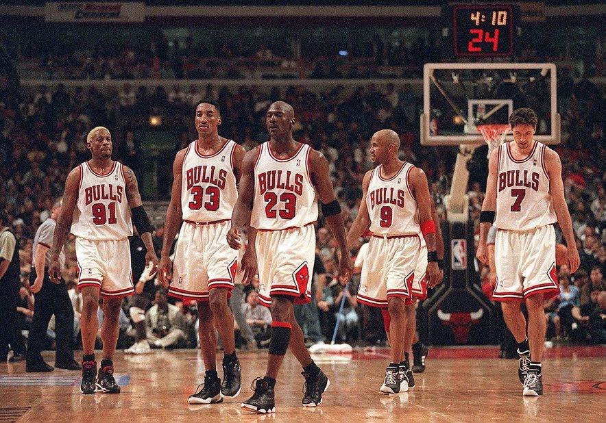Michael Jordan in njegovi sloviti ''Biki''.