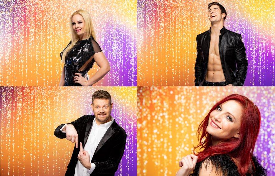 Za vstop v finalni večer 3. sezone šova Zvezde plešejo se bodo to nedeljo borili Špela Grošelj, Franko Bajc, Miha Zupan in Tanja Žagar.