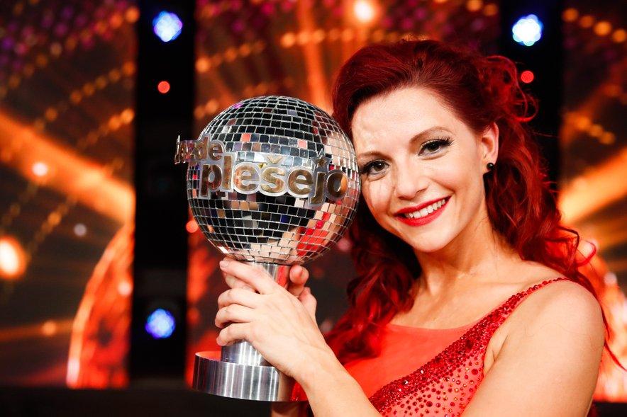 Tanja Žagar je postala velika zmagovalka tretje sezone šova Zvezde plešejo.