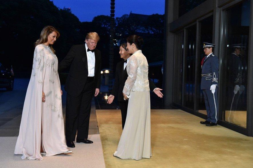 Melania Trump na Japonskem
