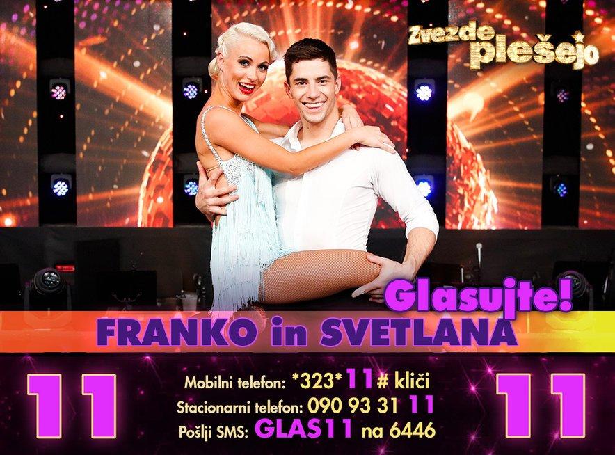 Franko Bajc in Svetlana Cigoj