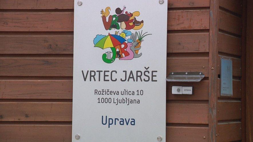 Vrtec Jarše v Ljubljani.