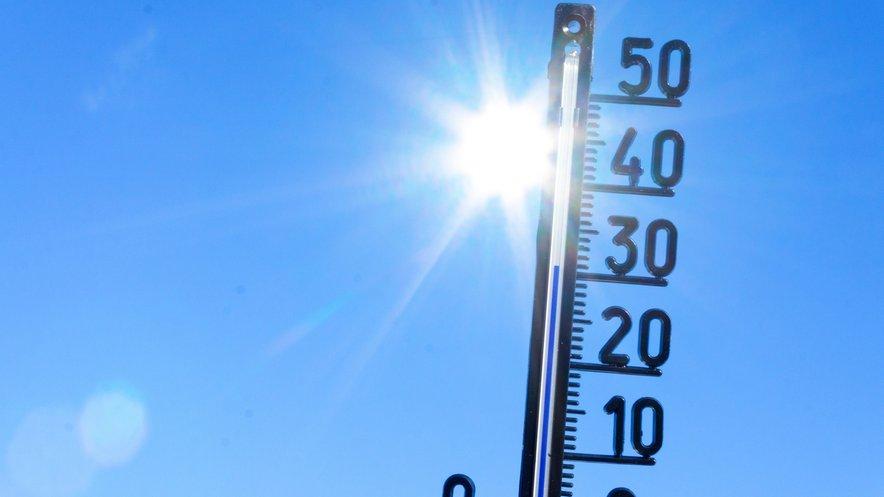 V soboto se je marsikje prvič letos ogrelo nad 30 stopinj Celzija.