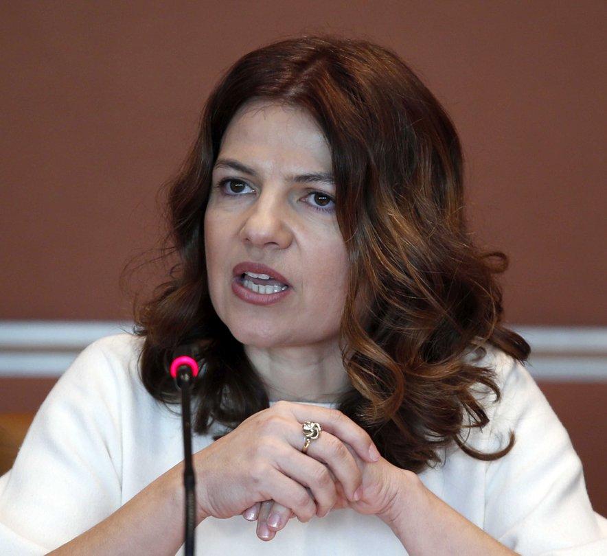 Sonja Šmuc, predsednica Gospodarske zveze Slovenije.