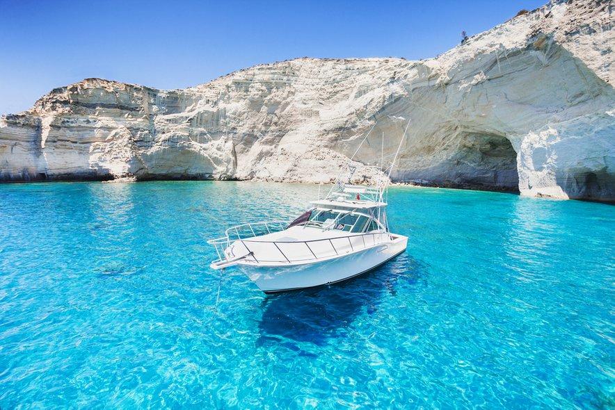 Nekateri grški otoki so znani tudi po svojem turkiznem morju.