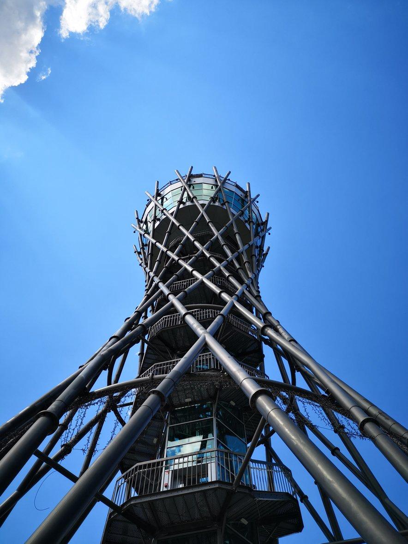 Razgledni stolp Vinarium v Lendavi ponuja razgled na štiri države.