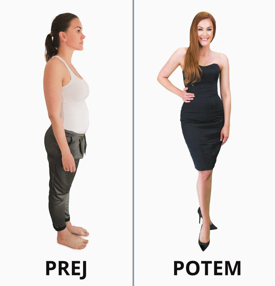 Rebeki je s pomočjo izdelkov SlimJoy uspelo ohranjati visoko motiviranost in shujšati 10 kilogramov brez pretiranega odrekanja.