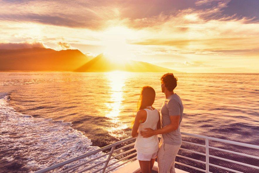 Sončni zahodi so v Grčiji nekaj izjemnega. Če jih doživite na trajektu, še toliko bolj.
