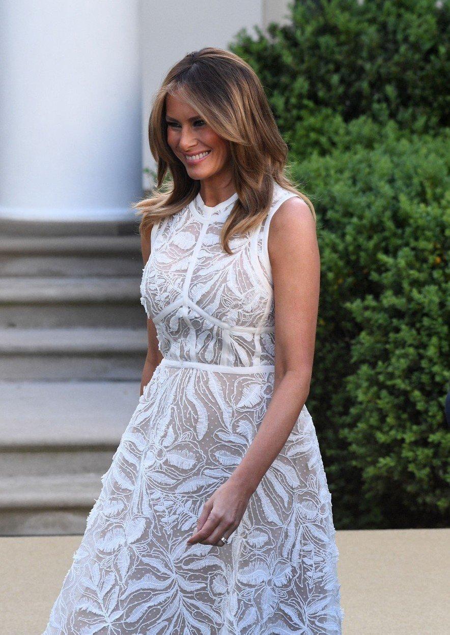 V zadnjih dveh letih si je 49-letna Melania prislužila naziv svetovne modne ikone.