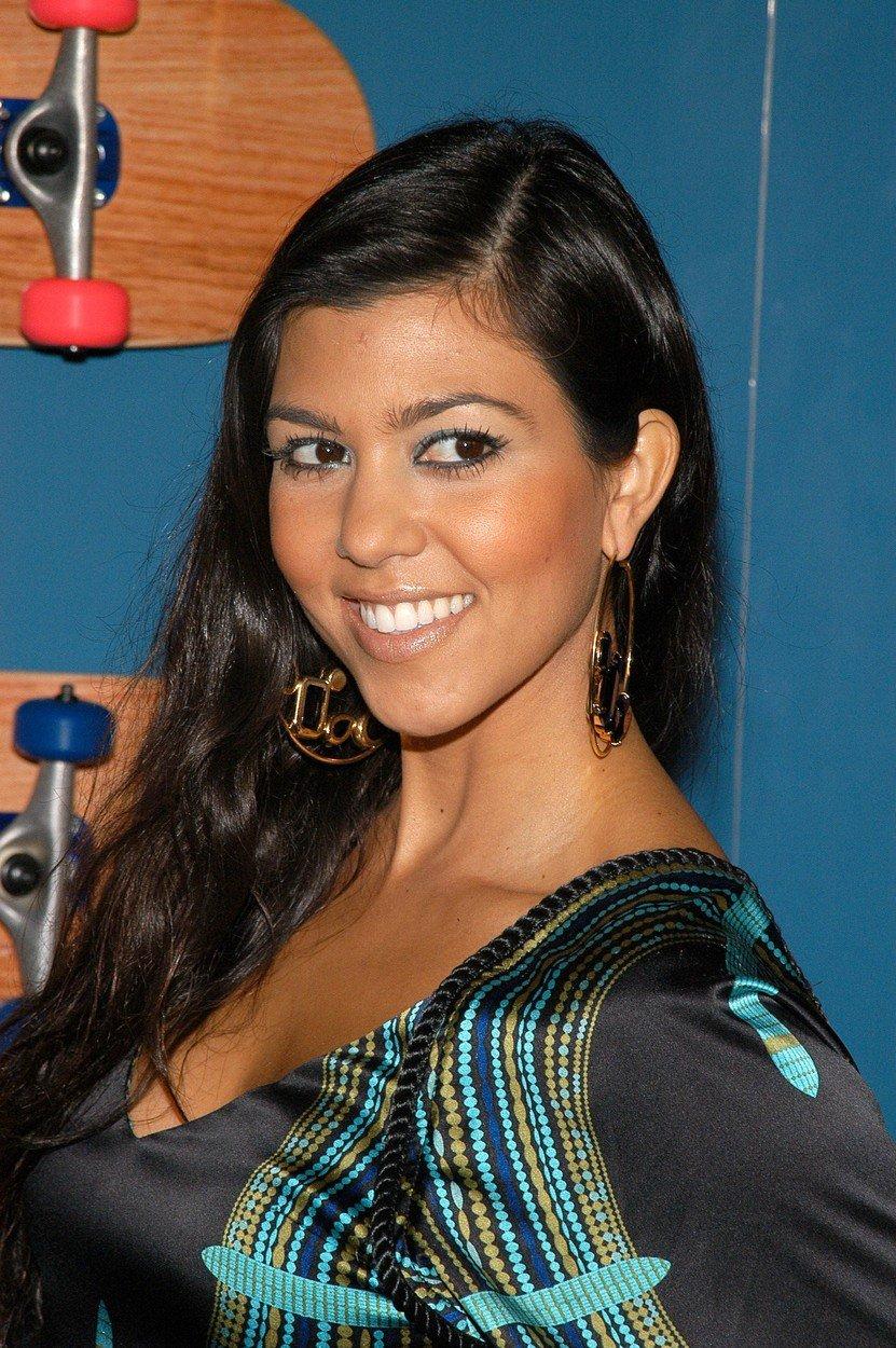 Kourtney Kardashian je izkazala podporo Kanyeju Westu.