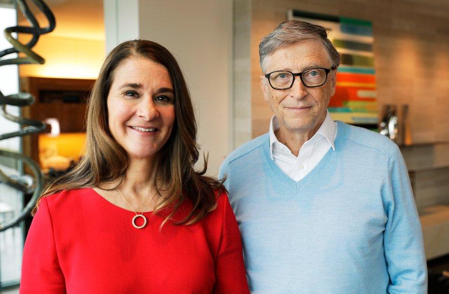 Melinda in Bill Gates sta bila poročena 27 let in imata tri otroke.