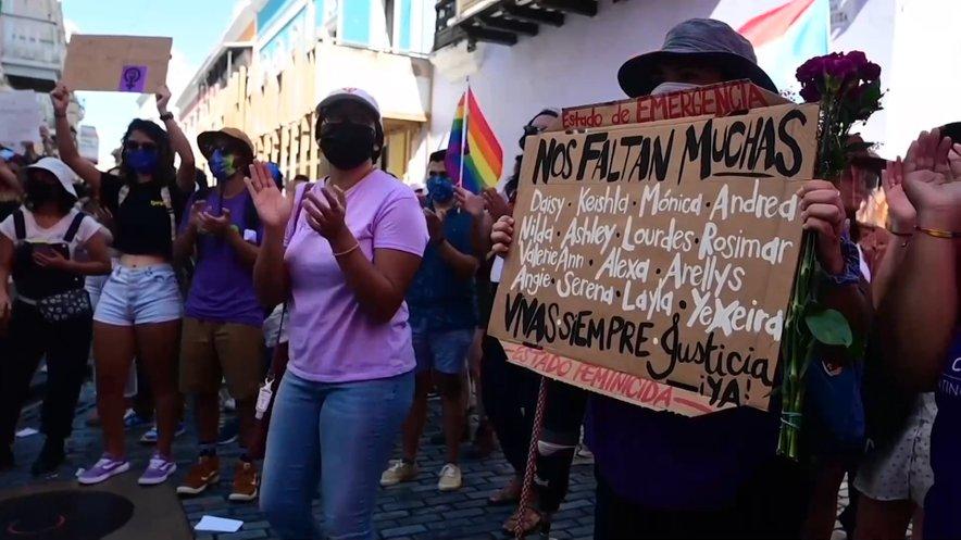 Protesti v Portoriku