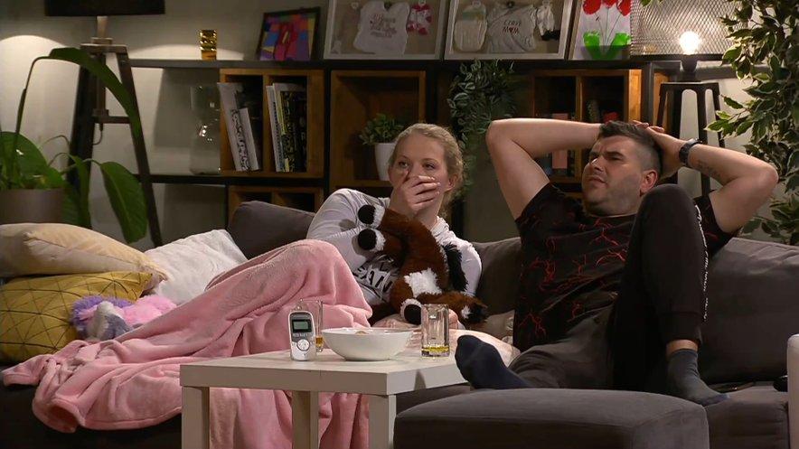 Luka in Maruša nista razumela, zakaj je Gregor izločil Eleno.