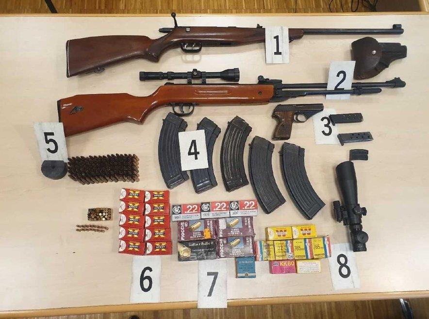 zaseg orožja v Ormožu