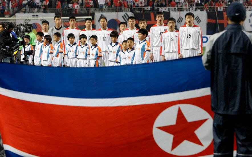 Nogometaši Severne Koreje so leta 2010 zaigrali celo na svetovnem prvenstvu v Južni Afriki.