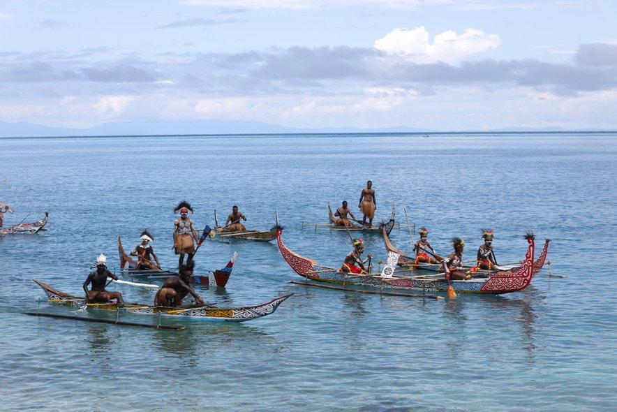 Avtohtoni prebivalci otoka Biak nasprotujejo načrtom indonezijske vlade.