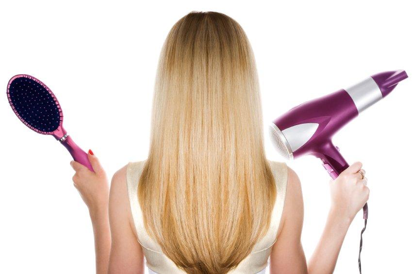 Barvanje, sušenje, ravnanje in morska voda lahko povzročijo lomljenje in izpadanje las.