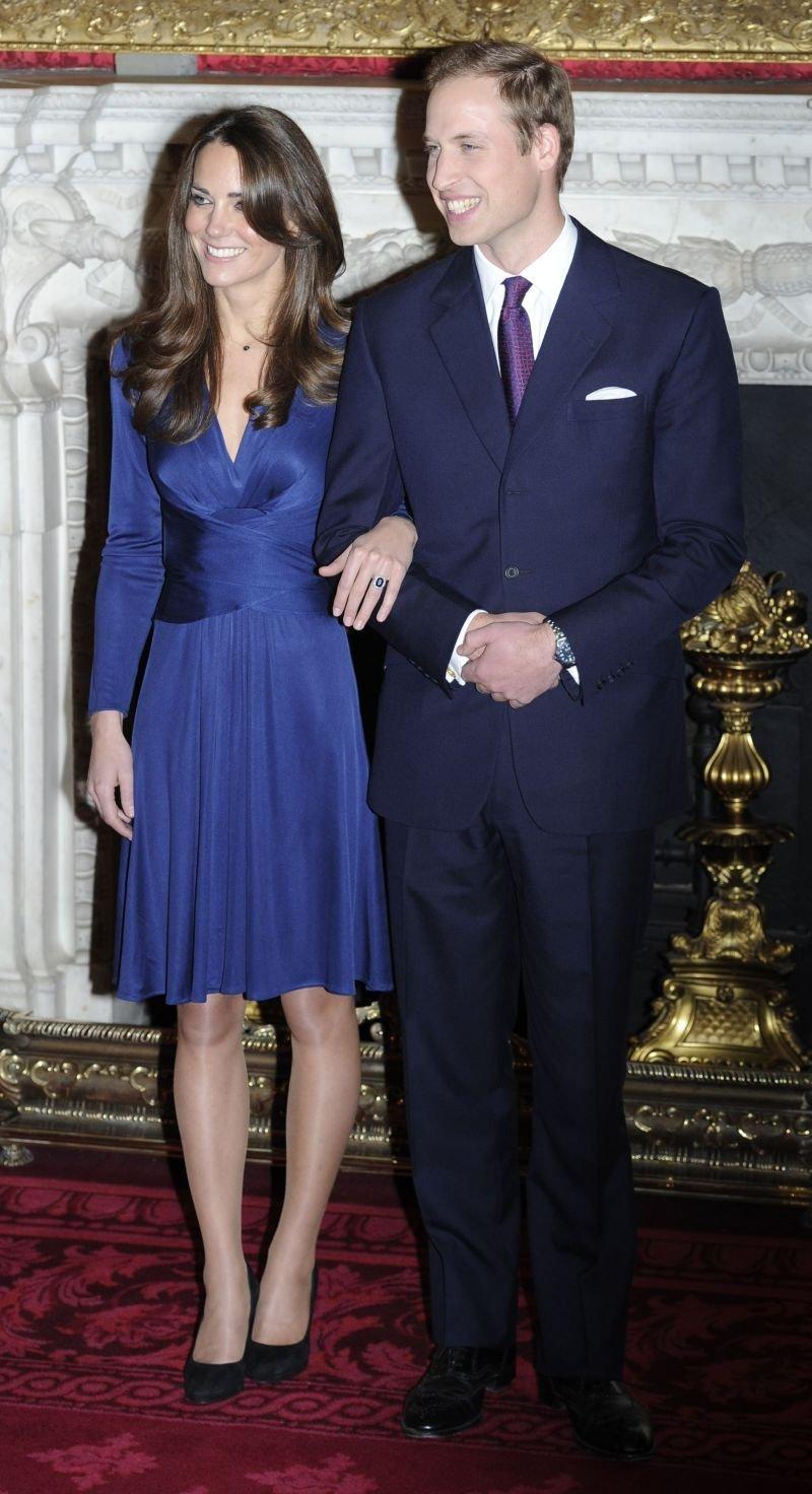 Uradne zaročne fotografije Kate Middleton in princa Williama.
