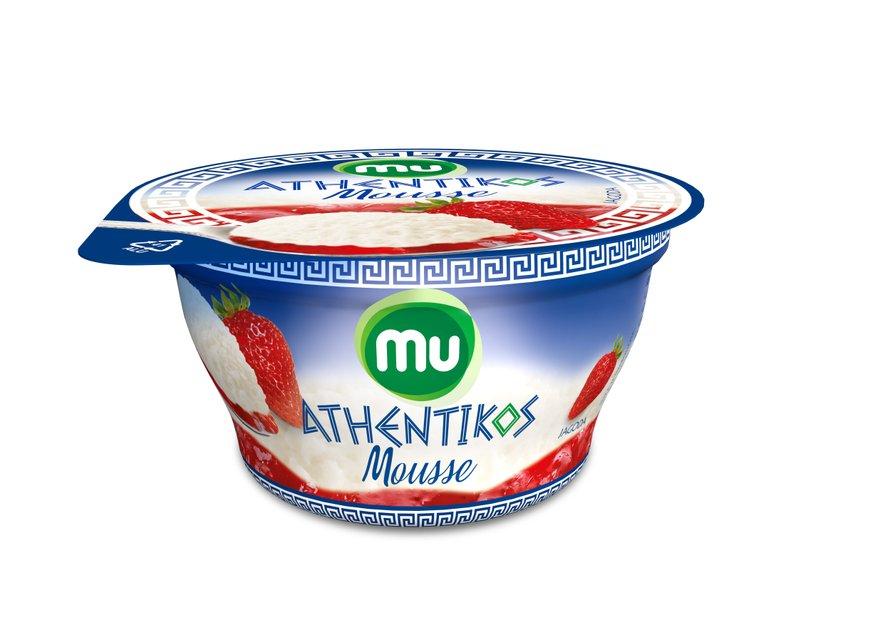 Svoje najdražje lahko razvajate tudi z izdelki Mu Athentikos Mousse z jagodami ali breskvami.