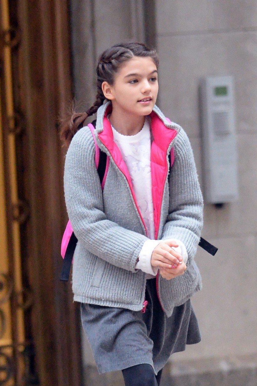 Njen stil je povsem običajen najstniški.