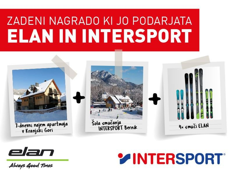 Elan in Intersport podarjata ...
