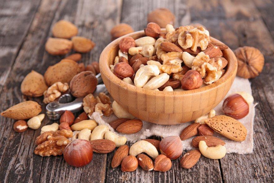 Pogosto uživanje oreščkov ima pozitivne učinke na splošno zdravje.