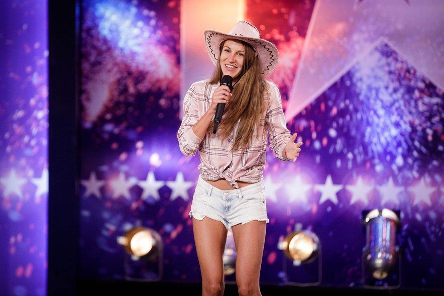 Nuša Rojs se je lani v šovu Slovenija ima talent prebila v polfinale.