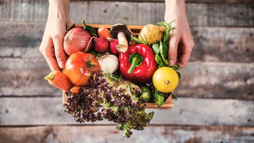 V HOFERju se še kako zavedajo pomena uživanja sveže in lokalno pridelane hrane, zato skrbijo, da sveže sadje in zelenjavo v trgovine vsak dan dostavijo sveže.