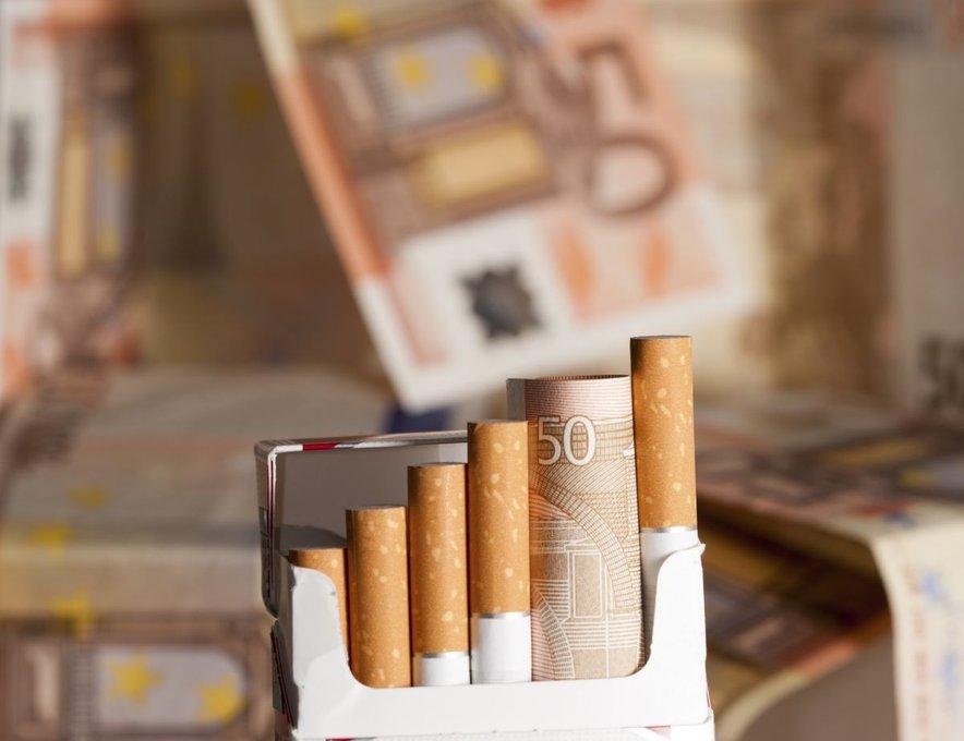 Cigarete in denar