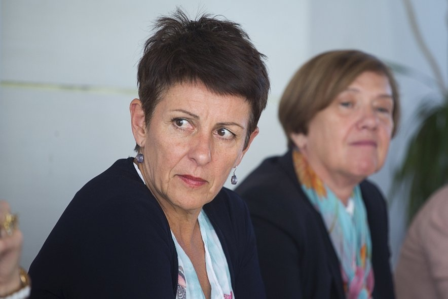 Predsednica ZSSS Lidija Jerkič.