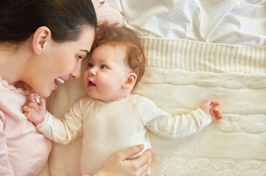 Dojenček in mama
