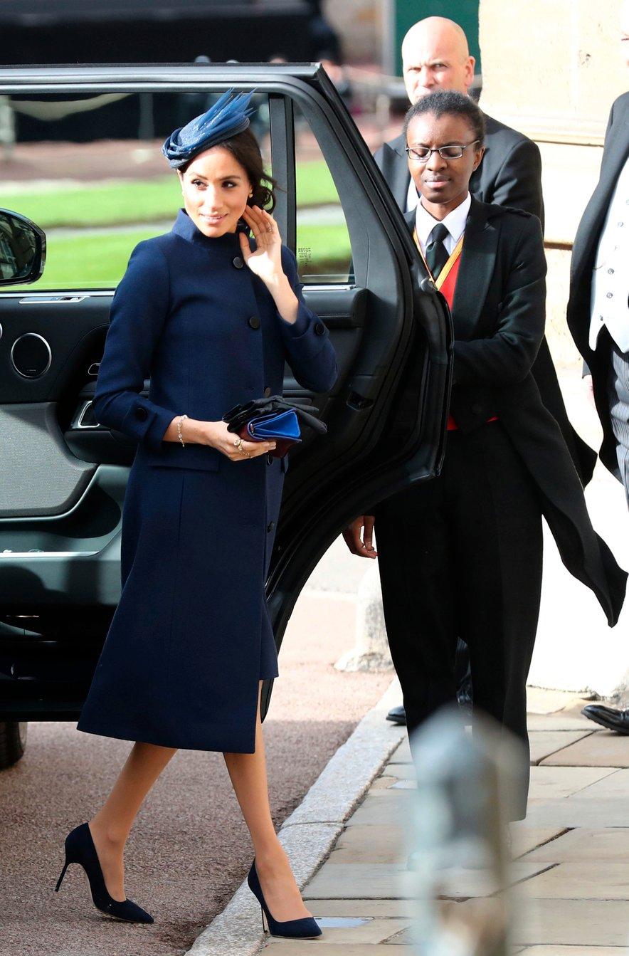 Meghan Markle je tokrat izbrala obleke modne hiše Givency.
