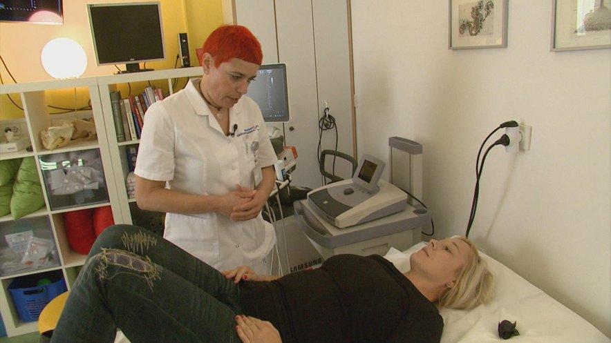 Darija Šćepanović med posvetom s pacientko