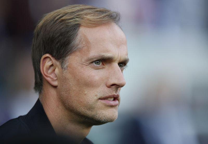 Trener PSG Thomas Tuchel.