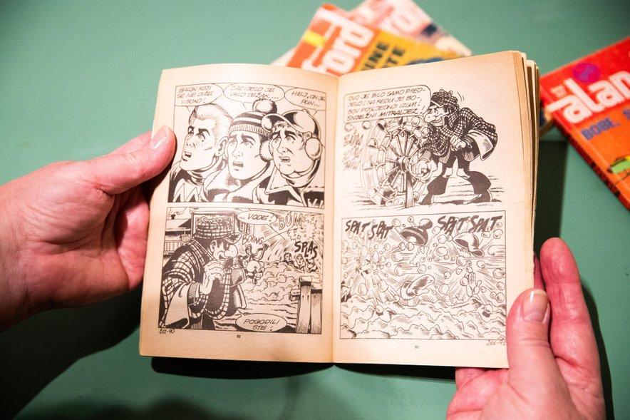 V kultnem stripu so uživale številne generacije v nekdanji skupni državi, v srcih številnih starih in novih privržencev pa še kako živi tudi dandanes.