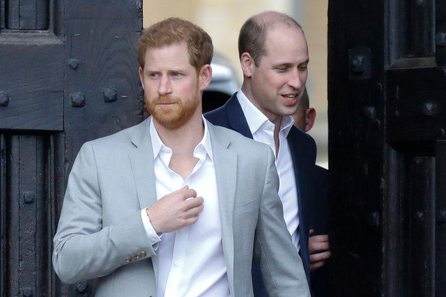 William in Harry sta se v preteklih mesecih nekoliko oddaljila.