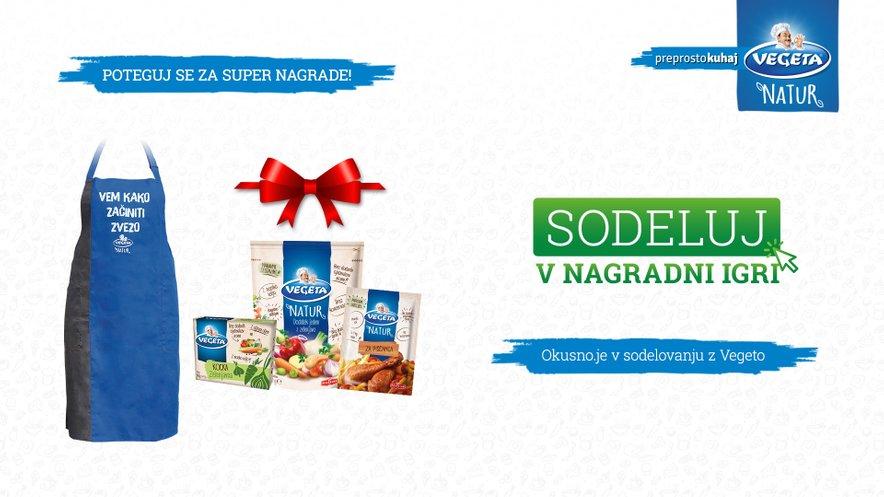 Pridruži se kampaniji Začinjeni družinski recepti in se poteguj za super nagrade.