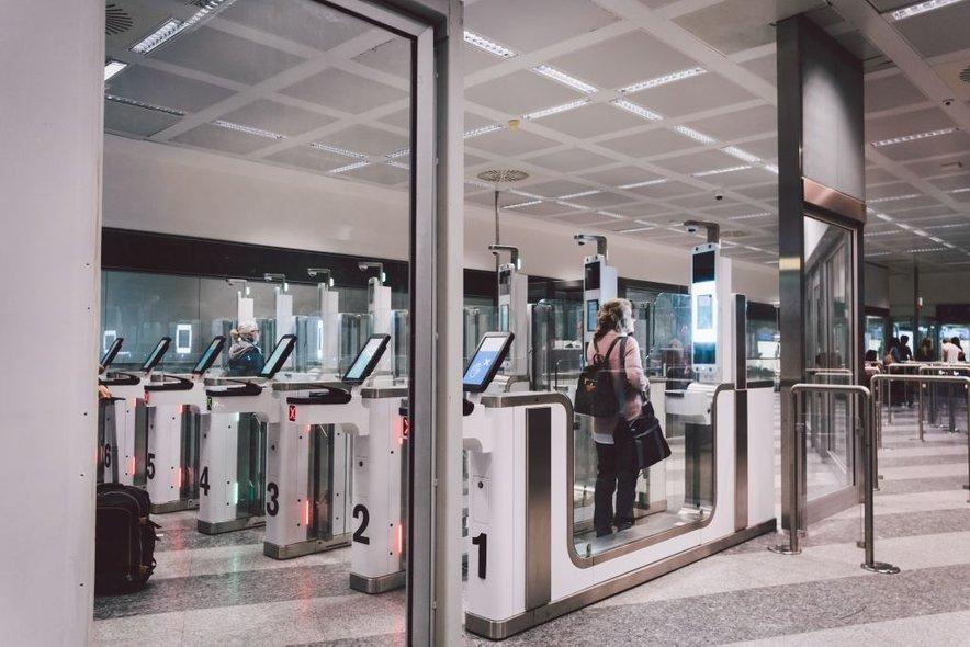 Sodobna nadzorna točka na letališču