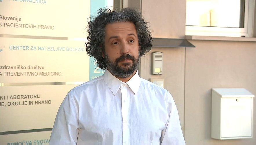 Predstojnik centra za nalezljive bolezni na NIJZ Mario Fafangel.