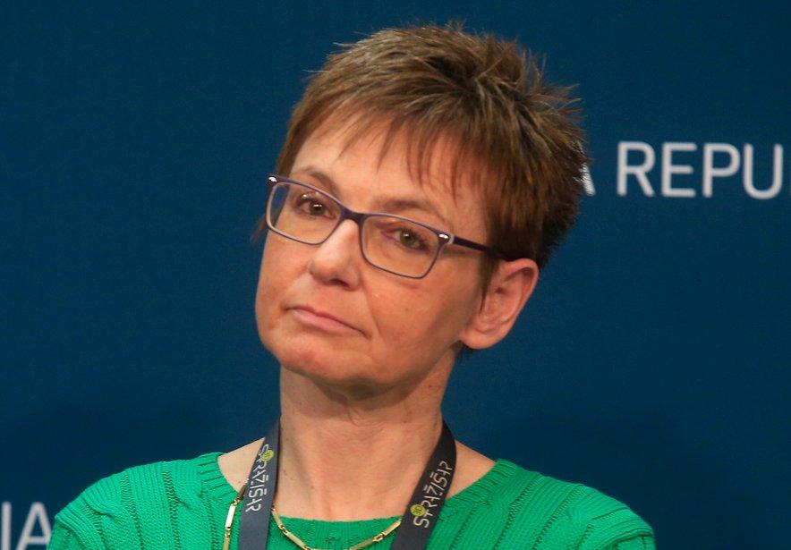 Nina Pirnat, nekdanja direktorica NIJZ.