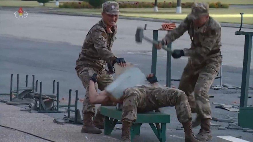 Severnokorejski vojaki