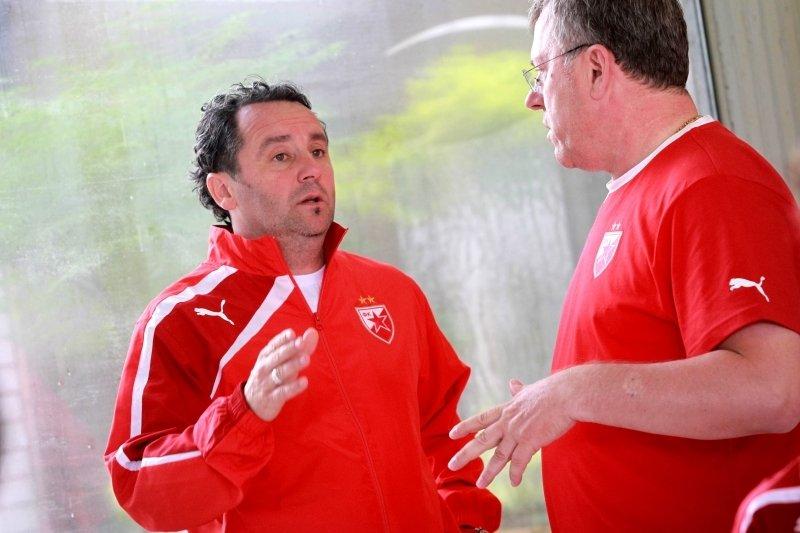 Slaviša Stojanović je bil pred leti prvi trener beograjske Crvene zvezde.