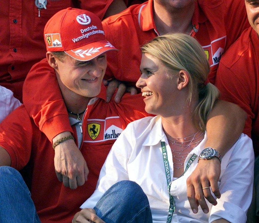 Michael in Corinna Schumacher