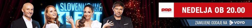 Šov Slovenija ima talent vsako nedeljo ob 20. uri na POP TV.
